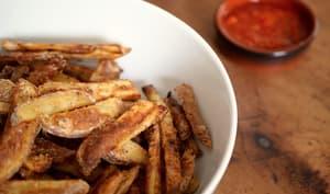 Des frites croustillantes au four sans matières grasses