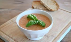 Gazpacho léger aux légumes d'été