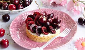 Sablé breton cerises amande