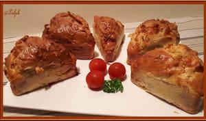 Minis cakes bacon tomates mozzarella et persil