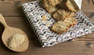 Biscuit quinoa amandes