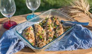 Maquereaux grillés, marinade coréenne