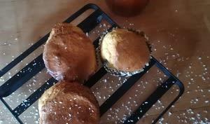 Muffins coconut cœur coulant abricot