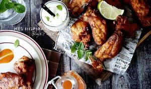 Ailes de poulet a la sauce Barbecue piquante