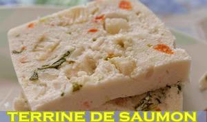Terrine de saumon et sole au safran
