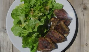 Ribs de porc aux épices tandoori, à la plancha