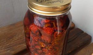 Tomates séchées à l'huile d'olive