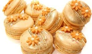 Macarons Pêche Abricot Safran
