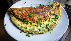 """Omelette"" à l'oseille"