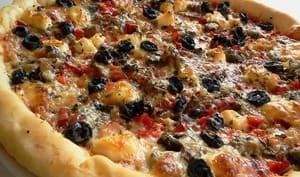 Pizza aux 3 poivrons