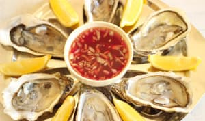 Sauce vinaigre échalote pour huîtres