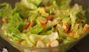 Salade de surimi