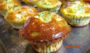 Muffins au brocoli façon frittata