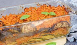 Aubergines et courgettes à la bolognaise