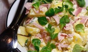 Salade de rattes cauchoise