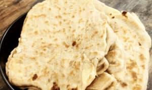 Cheese Naan au levain