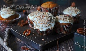 Muffins banana bread aux noix