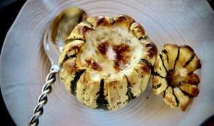 Patidou à la fondue de camembert
