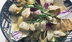 Vénus, grenailles, salicorne, lait ribot, algues