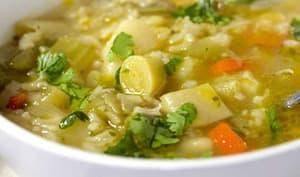 Soupe multi-légumes facile