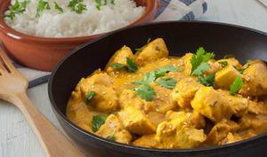 Curry de poulet au Skyr