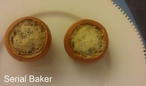 Pomme d'or farcie au pecorino