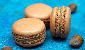 Macarons Noisette et Graines de Courge