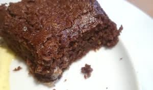 Fondant au chocolat courgette Healthy