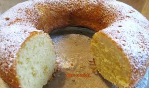 Gâteau moelleux ricotta et citron