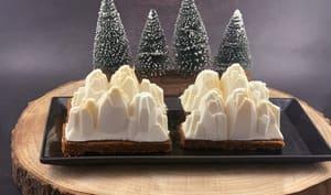 Bûches de Noël individuelles façon cheesecake