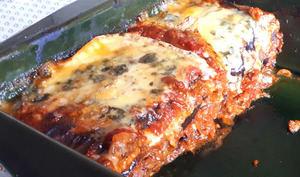 Lasagnes aux aubergines et au bleu d'Auvergne   La bonne bouffe à sam