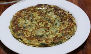 Omelette aux aubergines au parmesan