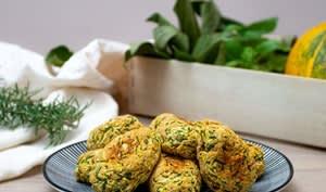 Nuggets végétariens courgette et parmesan