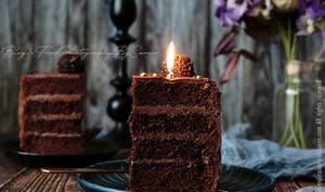 Drip cake d'anniversaire
