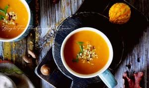 Soupe de potimarron crémeuse