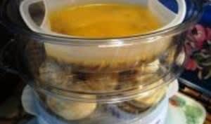 Filets de Sébaste Pochés au Lait de Curry