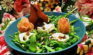 Salade d'automne à la poire