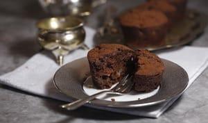 muffins poire chocolat à l'huile de sésame