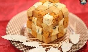 Rubix cube festif au Saint Agur