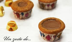 Muffins fondants aux Reese's cup