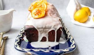 Cake citron aux jaunes d'oeuf
