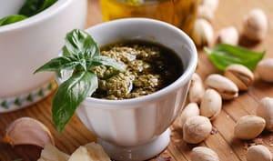 Pesto de pistache