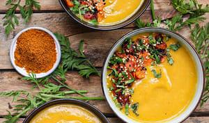 Soupe de carottes au ras-el-hanout