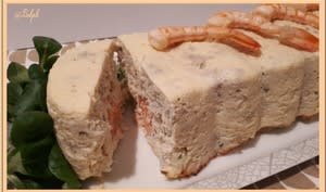Terrine de colin et saumon au Thermomix