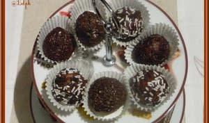 Boules chocolat et gavottes