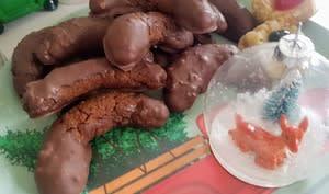 Lunes pralinées chocolat