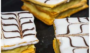 Mille feuille maison traditionnel