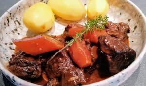 Daube de bœuf traditionnelle
