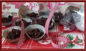 Nuages croustillants au chocolat