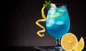 Cocktail Blue Orchid